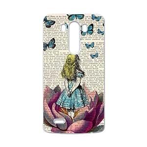 SKULL Butterflies lovely girl Cell Phone Case for LG G3