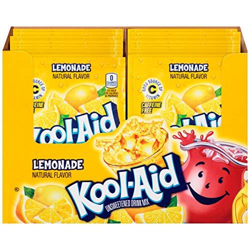Kool Aid Lemonade Drink Mix (0.23 oz Packets, Pack of 96)