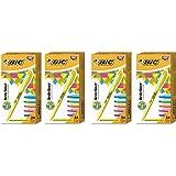 BIC Brite Liner Highlighter, Chisel Tip, Assorted Ink, 24-Pack - 4 Box
