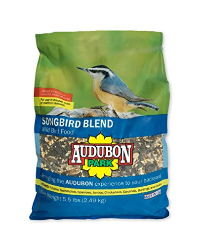 Audubon Park 12230 Songbird Blend Wild Bird Food, 4.5-Pounds