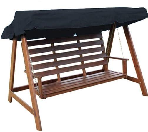 FFSM Balancín de jardín 235x120x18cm 3 Canopy al Aire Libre Columpio for la Tienda Impermeable oscilación de la Cubierta del Techo Toldo para Patio de jardín al Aire Libre con Patio, porc: