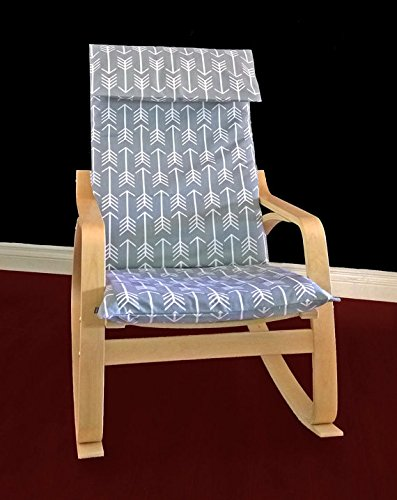 Awe Inspiring Amazon Com Ikea Poang Slipcover Grey Arrow Handmade Evergreenethics Interior Chair Design Evergreenethicsorg