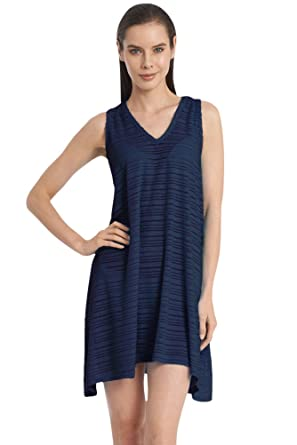 c192c8156bc45 Image Unavailable. Image not available for. Color  Jordan Taylor Plus Size  Belize Navy V-Neck Handkerchief Dress 3X