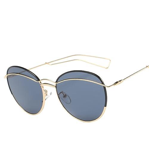 Gafas De Sol Marco Clásico De Metal FAONL Moda