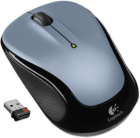 Right//Left Compact Blue Logitech 910002698 M525 Wireless Mouse