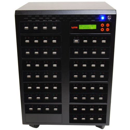 Systor 1 to 63 Multiple USB Thumb Drive Duplicator / USB Flash Card Copier (USBD-63) by Systor Systems