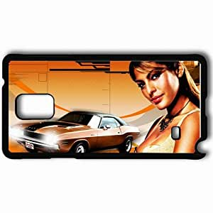 Personalized Samsung Note 4 Cell phone Case/Cover Skin 2 fast 2 furious eva mendes movies Black