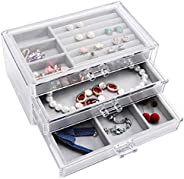 Jewelry Box with 3 Drawer