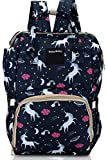 Foolzy Diaper Bag Backpack Baby Bag Multifunction Maternity Travel Changing Pack - Water Resistant Nappy Tote