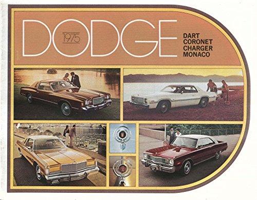 1975 Dodge full-line brochure Charger Dart Monaco ()