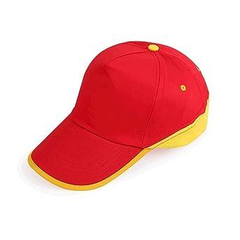 LDDENDP Gorra de béisbol ajustable plana para deportes, Neutral ...