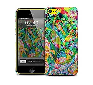 abstract jungle iPhone 5c protective phone case by supermalls
