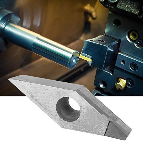 PCD Diamond Insert, VCGT110302/VCGT110304/VCGT110308 PCD Diamond Insert Professionelles CNC-Drehmaschinenwerkzeug zur Verarbeitung von Zink aus Aluminium-Kupferlegierung(304)