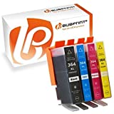 Bubprint 4 Druckerpatronen kompatibel zu HP 364XL 364 XL HP Photosmart 5520 5510 6520 7520 DeskJet 3520 3070A OfficeJet 4620