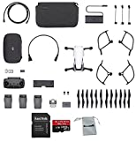 DJI Mavic Air Fly More Combo (Arctic White) Portable Quadcopter Drone Bundle with Additional Memory Card and More