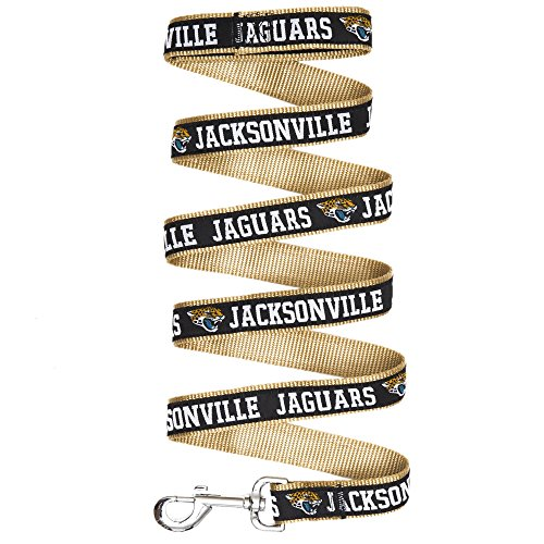 Jacksonville Jaguars Leash - Pets First Jacksonville Jaguars Leash, Large