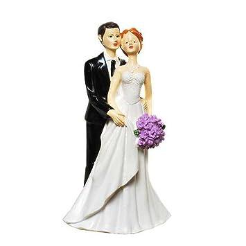 Dekofigur Brautpaar Frau Mit Blumenstrauss Hochzeitsgeschenke
