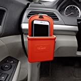 FH Group FH3022RED Red Silicone Car Vent Mounted Phone Holder
