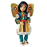 Beautiful Butterfly Dancer Native-American Inspired Child Doll By Dianna Effner by The Ashton-Drake Galleries