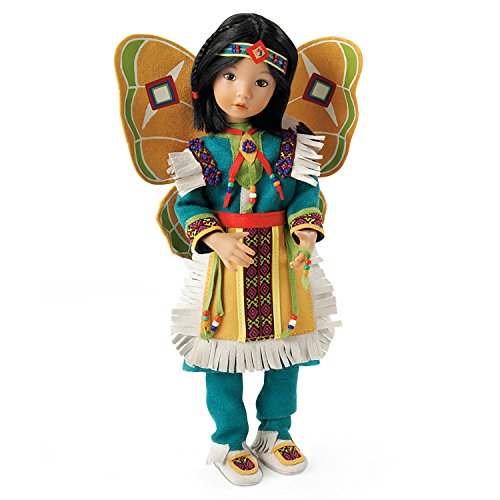 Beautiful Butterfly Dancer Native-American Inspired Child Doll By Dianna Effner by The Ashton-Drake Galleries by The Ashton-Drake Galleries