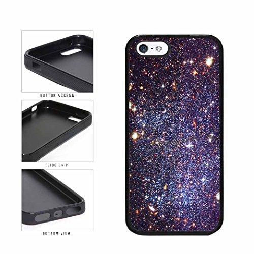 BleuReign Bright Black Stars Deep Space TPU RUBBER Phone Cas