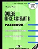 College Office Assistant B, Jack Rudman, 0837301548