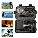 A-SZCXTOP 10 in 1 Emergency Survival Kits Multi Tools for Outdoor Traveling, Camping, Hunting, Backpacking,Cycling,Fishing