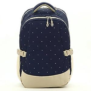 yuhan baby diaper bag travel backpack handbag insulated bottle pockets blue dot baby. Black Bedroom Furniture Sets. Home Design Ideas