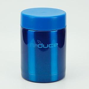 Reduce 10 Oz. Vacuum Food Jar (Blue)