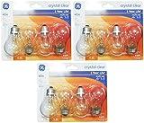 120v 40w bulb appliance - Ge Lighting 76580 Appliance 40-watt, 415-lumen A15 Light Bulb with Medium Base, 12-pack