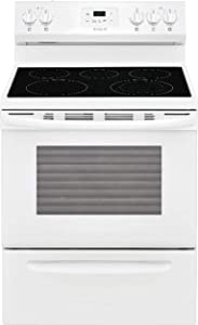 "Frigidaire FFEF3052TW 30"" Electric Smooth Top Freestanding Range Manual Clean"