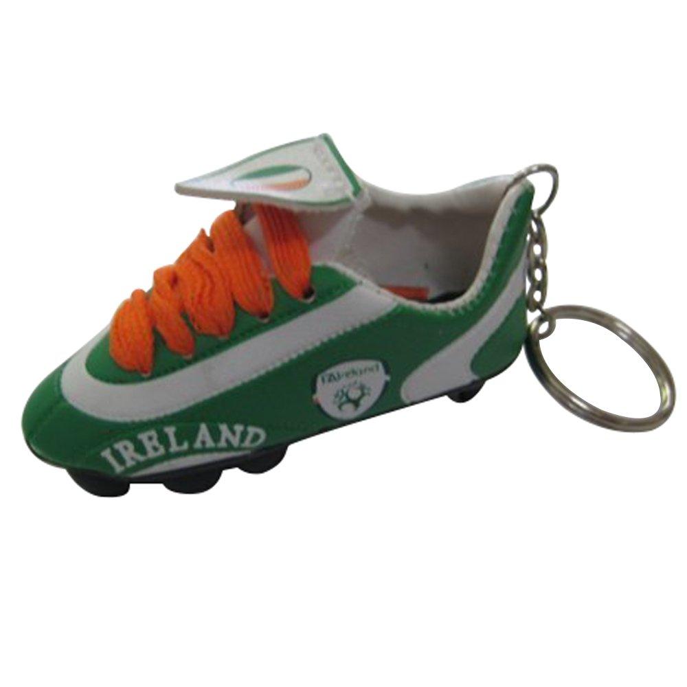 Football Soccer Futbol Mini Shoeキーチェーンキーリング – ヨーロッパ B00UXMAYBK 3パック Country: Ireland Country: Ireland 3パック