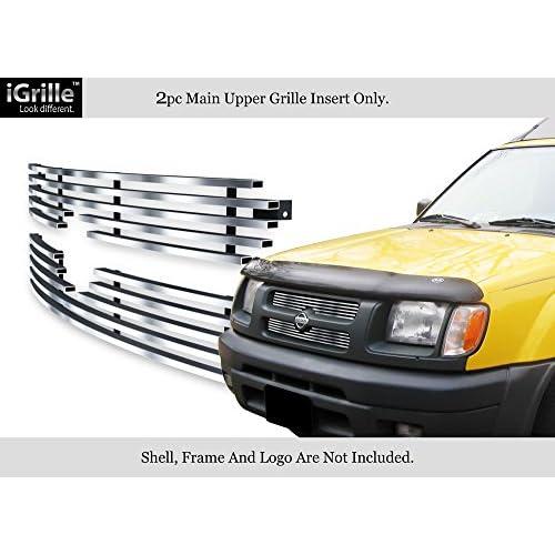 Fits 00-01 Nissan Xterra Stainless Steel Billet Grille Insert ...