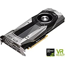 NVIDIA GeForce GTX 1080 Founders Edition, 8GB GDDR5X PCI Express 3.0 Graphics Card