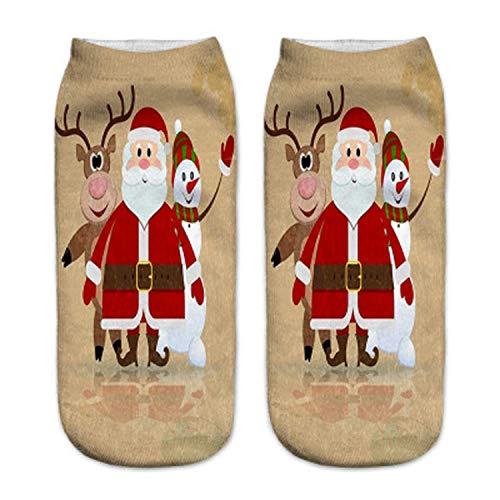 Mydufish 2Pcs 19Cm Christmas Stocking Kids New Year Gift Bags Stock Sack Party -