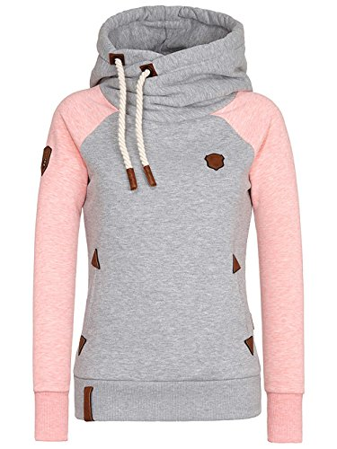 sugar Melange Naketano Felpa Pink Donna Grey qxwnUAp6
