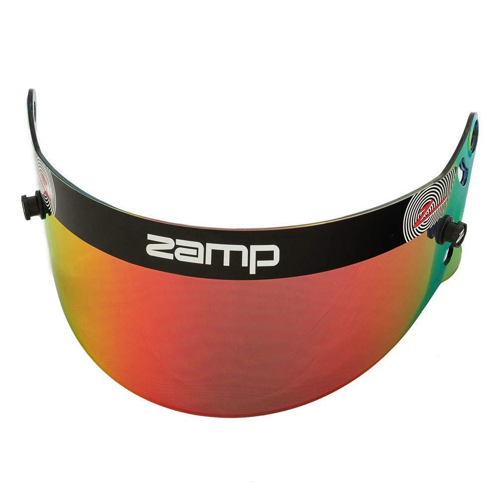 Zamp Z-20 Series Shield Red Prizm Chrome