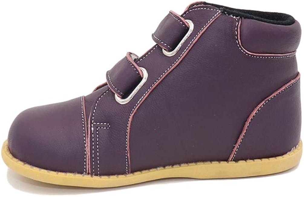 Zapatos de Moda para niños Botas Redondas de Invierno Botas de Goma Planas Zapatillas de Deporte de Moda