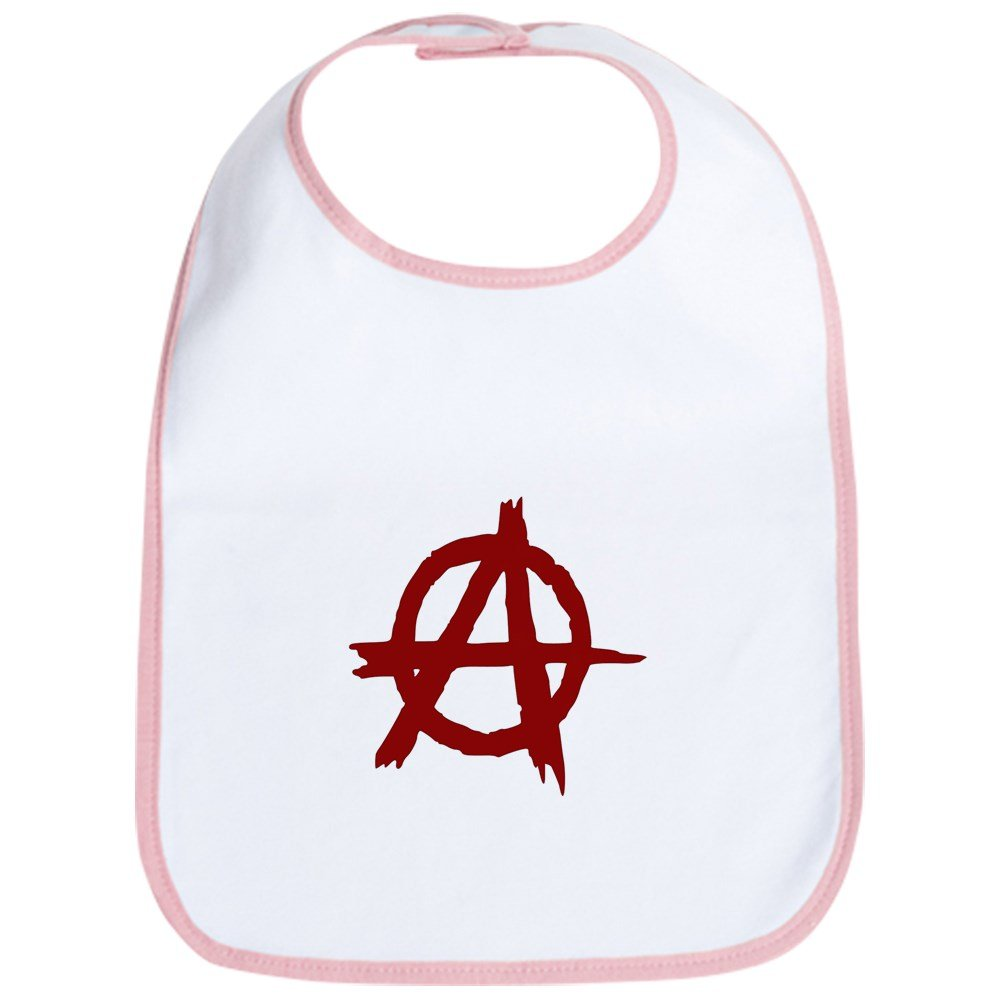 CafePress - Anarchy Bib - Cute Cloth Baby Bib, Toddler Bib