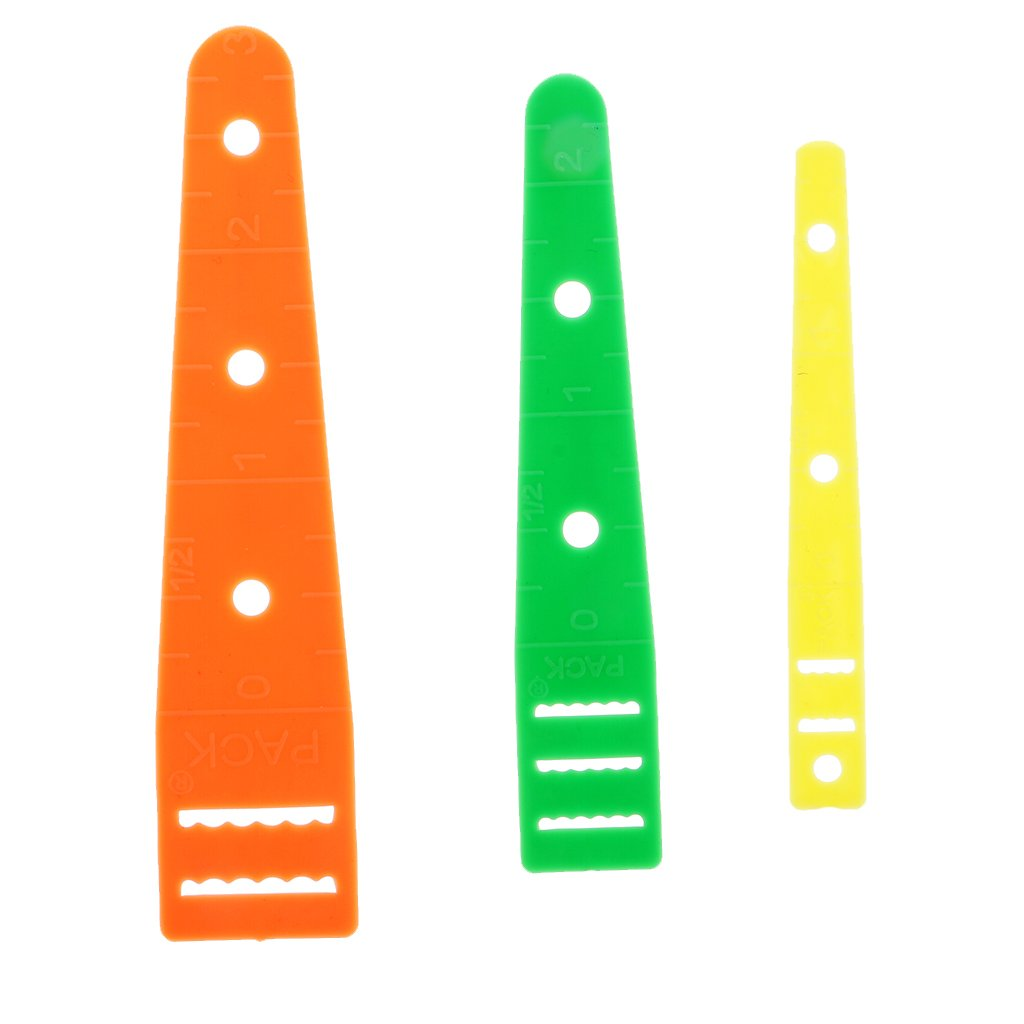 Flameer 3 Pieces/Set Elastic Threaders Wear Elastic Band Tool Clothes Sewing Accessories