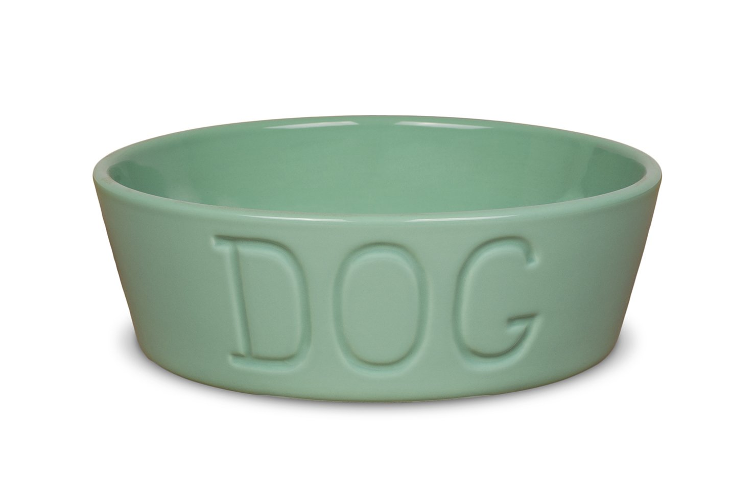 Turquoise POTTERY COMPANY LOS ANGELES Bauer Dog Large