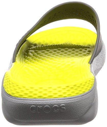 Grey LiterideSlide lite Slate Crocs Grey qITqawdcR