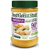 Just Great Stuff Powdered Peanut Butter, 6.35 Ounce -- 12 per case.