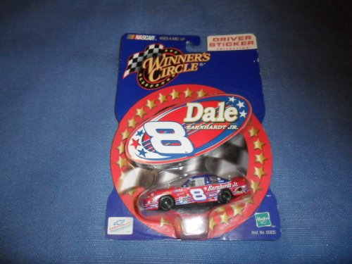 Nascar Collection (Dale Earnhardt Jr 2000 Winner's Circle #8 DALE Chevy Monte Carlo 1/64 Diecast . . . Includes Sticker from the Driver Sticker Collection by Nascar)