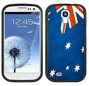 Australia Flag Handmade Samsung Galaxy S4 Black Bumper Hard Plastic Case
