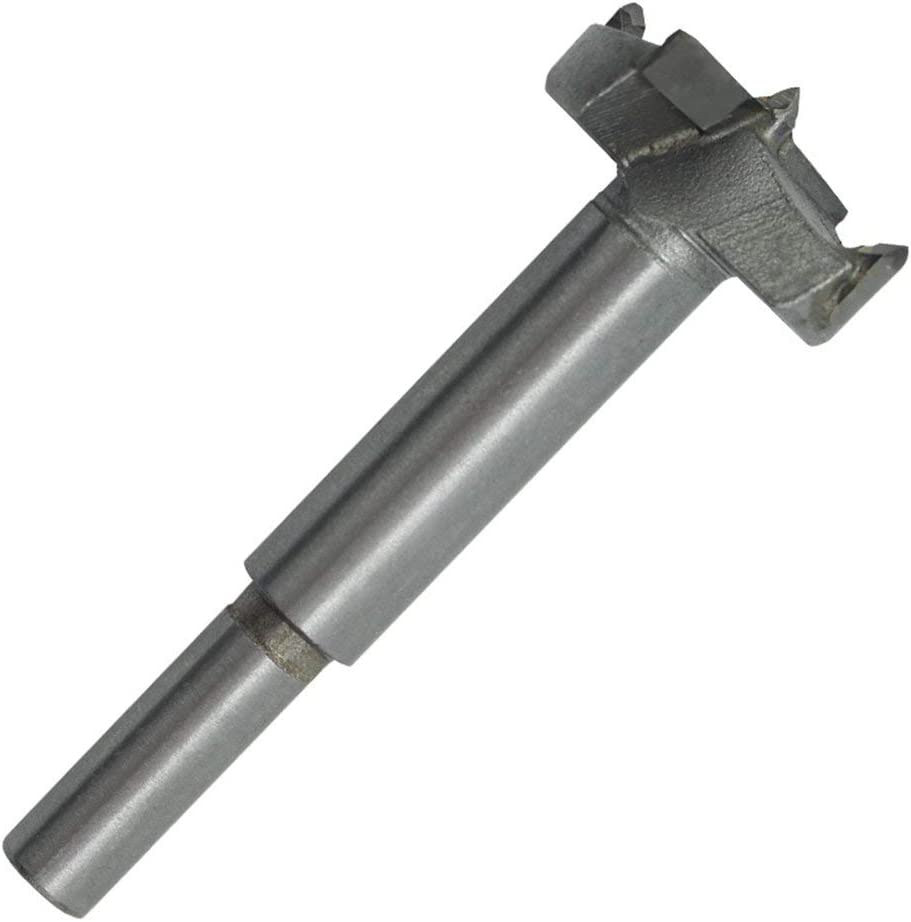 002-fr3-ES Broca de n/úcleo de carpinter/ía Profesional Forstner Broca de Madera Self Silver 40MM
