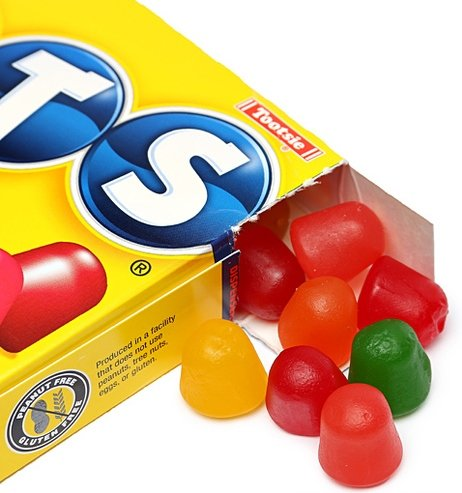 Dots Assorted Fruit Flavored Gumdrops   6 5 Oz  Theater Box  Pack Of 4