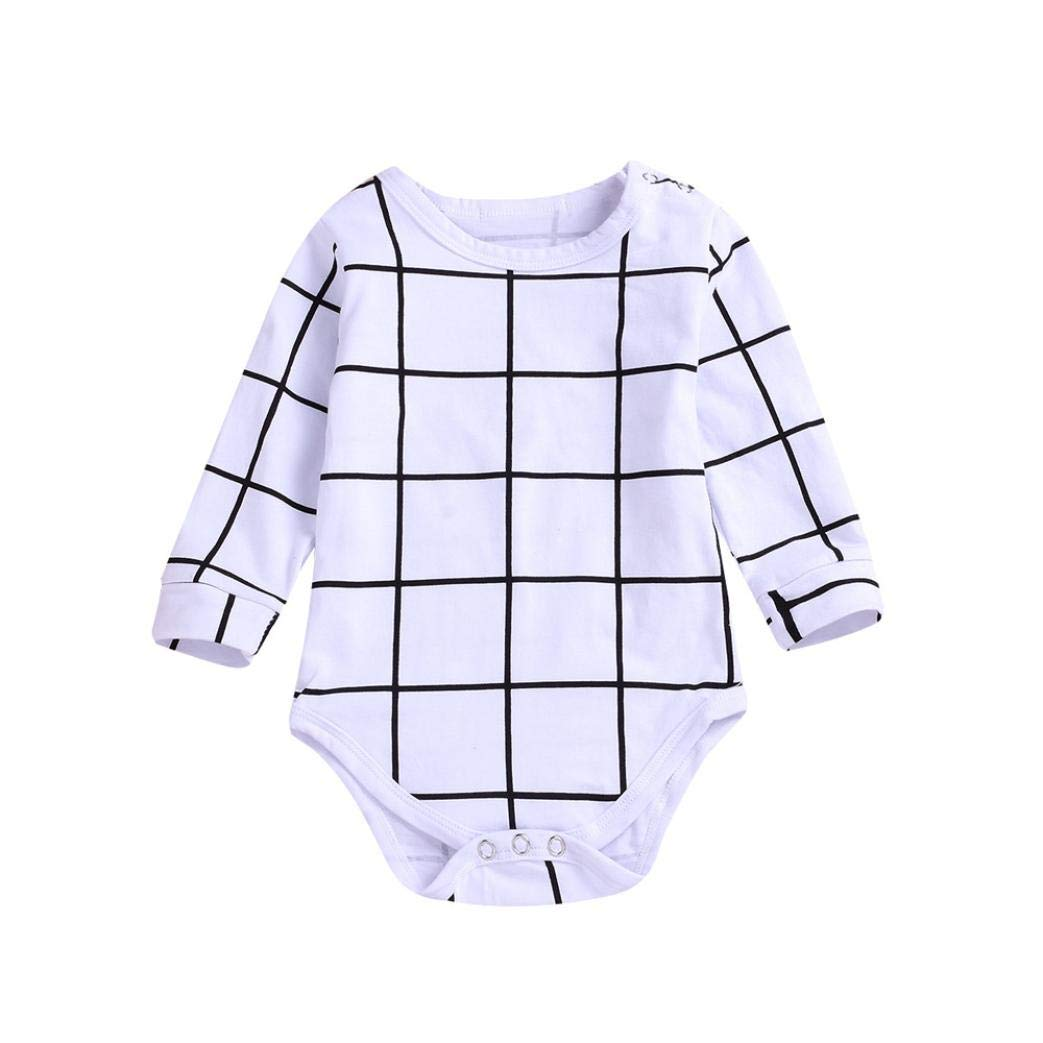 a033ec1c7 Amazon.com  Clearance Newborn Baby Kids Boys Long Sleeve Romper ...
