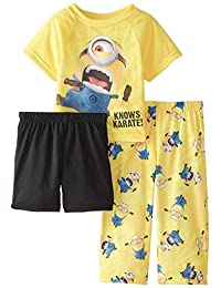 Despicable Me Toddlers Karate Minion 3-Piece Pajama Set, Size 3T
