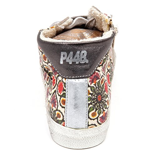 Grigio Woman Sneaker Donna D2780 Grigio Scarpe Star A4 P448 Shoe Vintage FqvwUAT